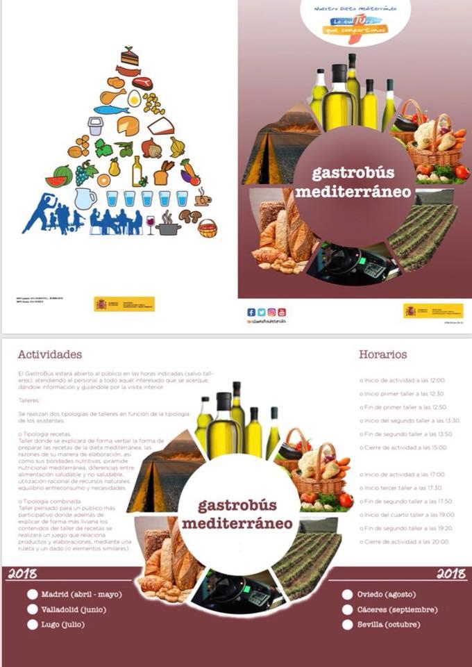 Gastrobús mediterráneo 2018 - Talayuela (Cáceres) 2