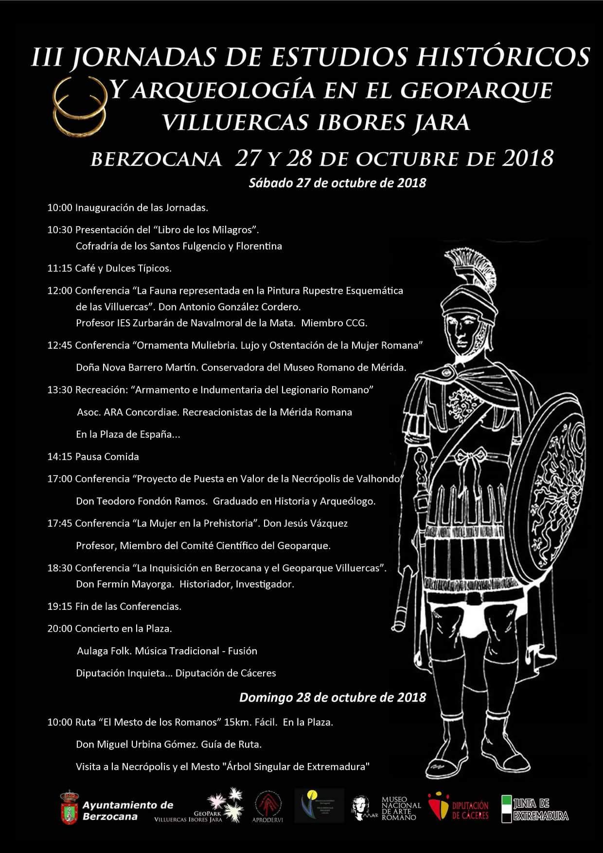 III Jornadas de estudios históricos y arqueología en el Geoparque Villuercas Ibores Jara