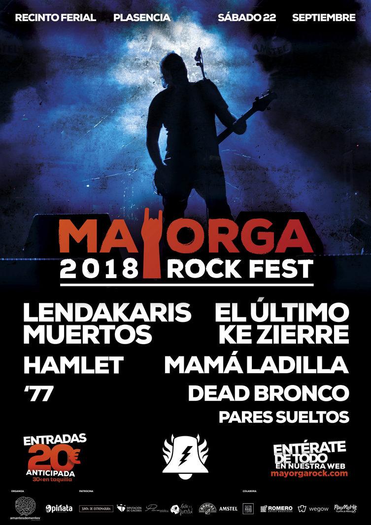 Mayorga Rock Fest 2018 - Plasencia (Cáceres)