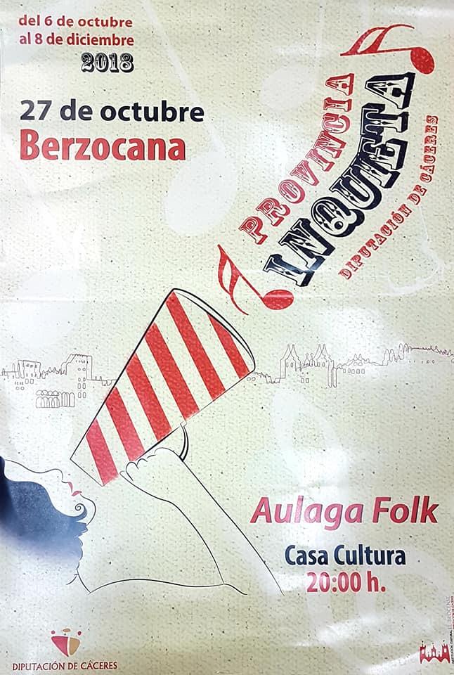 Aulaga Folk 2018 - Berzocana (Cáceres)