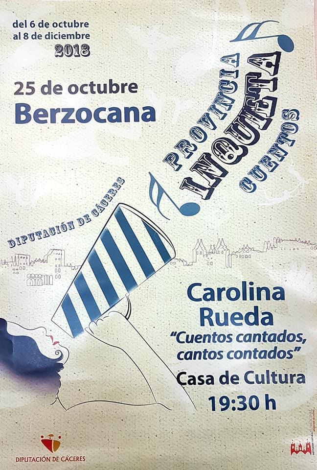 Carolina Rueda 2018 - Berzocana (Cáceres)