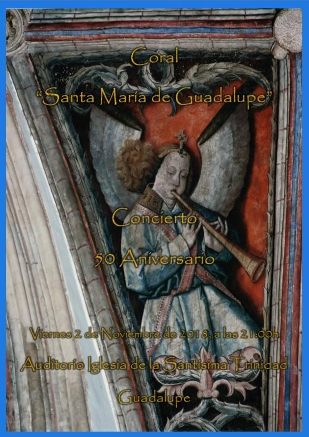 Concierto 50 aniversario de la Coral de Santa María de Guadalupe