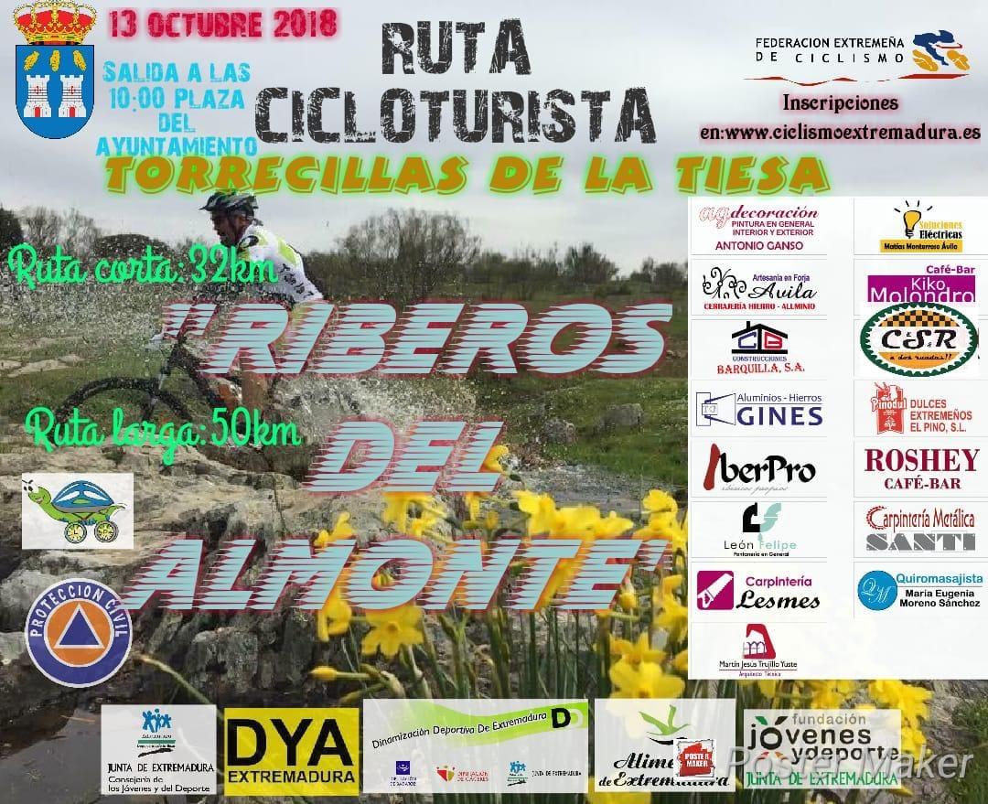 II Ruta cicloturista de mountain bike Riberos del Almonte