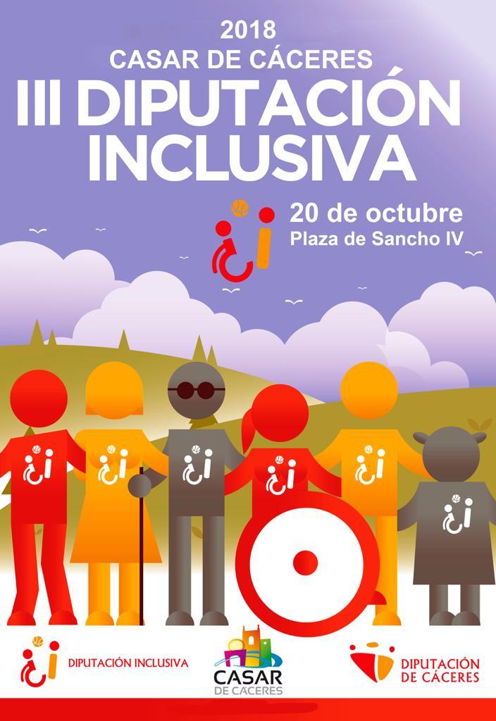 III Diputación inclusiva - Casar de Cáceres (Cáceres)
