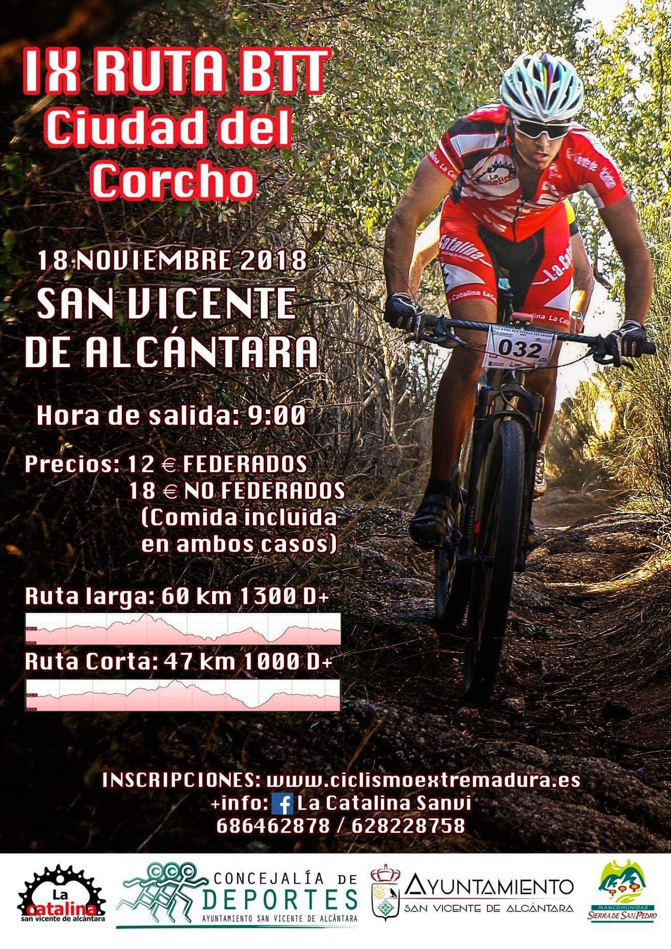IX Ruta BTT Ciudad del Corcho