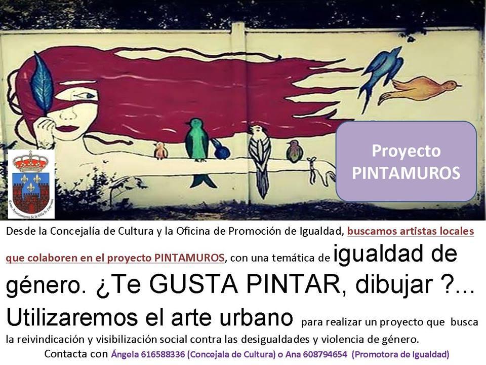 Proyecto PINTAMUROS 2018 - Logrosán (Cáceres)