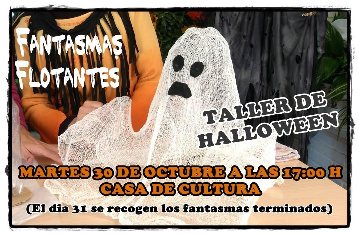 Taller de Halloween 2018 - Logrosán (Cáceres)