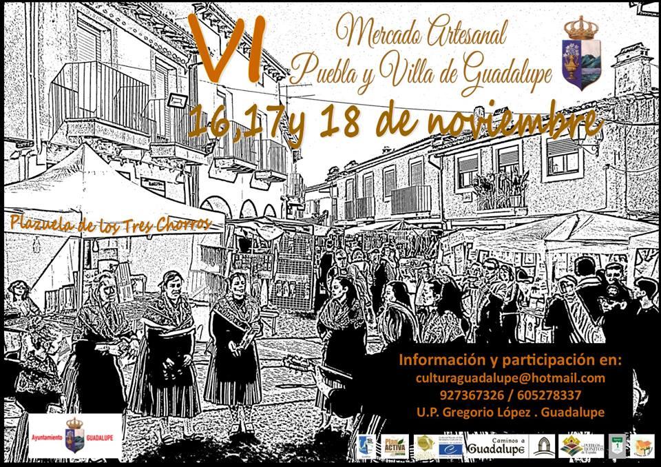 VI Mercado artesanal - Guadalupe (Cáceres)