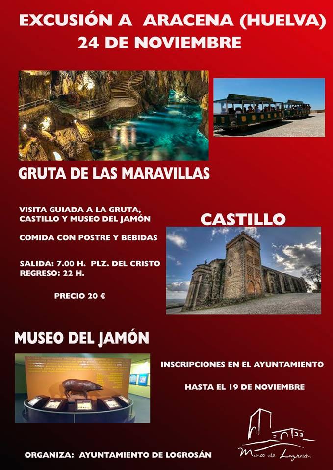 Excursión a Aracena 2018 - Logrosán (Cáceres)