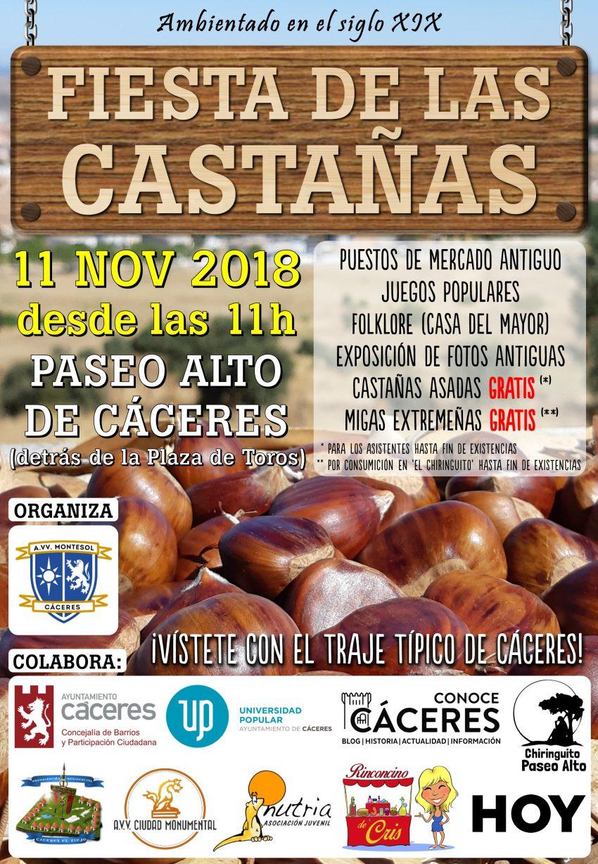 Fiesta de las castañas 2018 - Cáceres