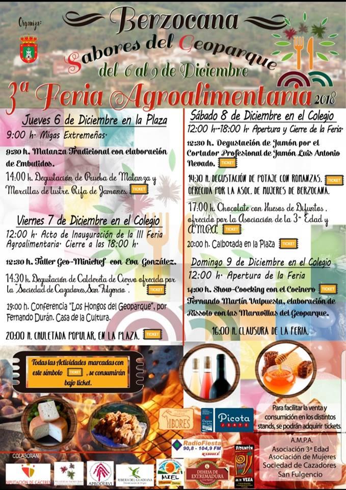 III Feria agroalimentaria - Berzocana (Cáceres)