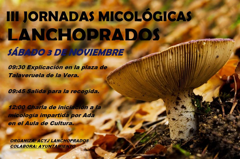 III Jornadas micológicas Lanchoprados