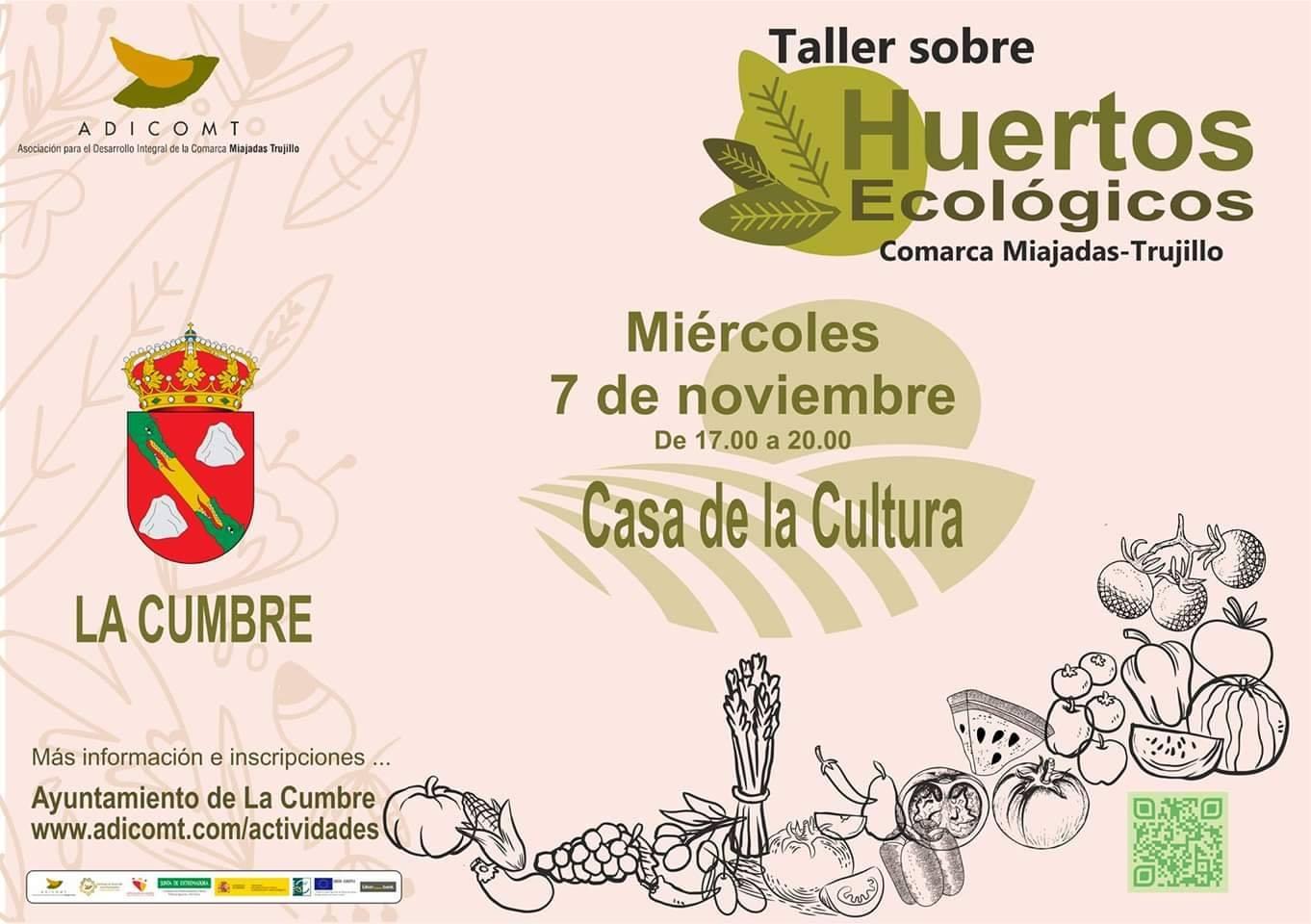 Taller de Huertos ecológicos 2018 - La Cumbre (Cáceres)
