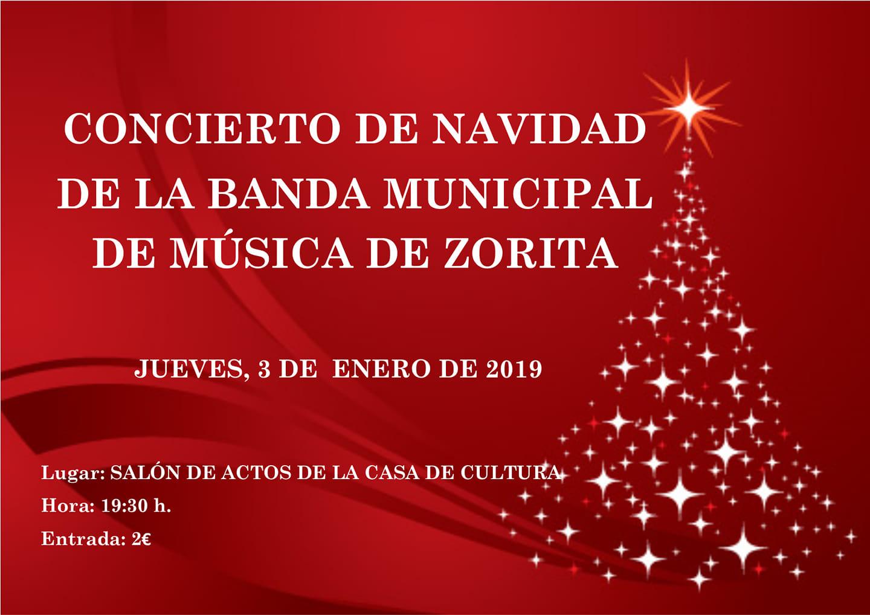 Concierto de Navidad 2019 - Zorita (Cáceres)