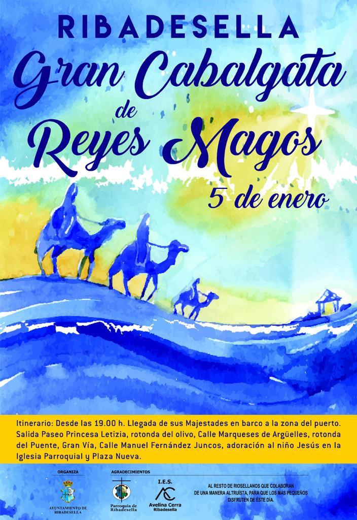Gran cabalgata de Reyes Magos 2019 - Ribadesella (Asturias)
