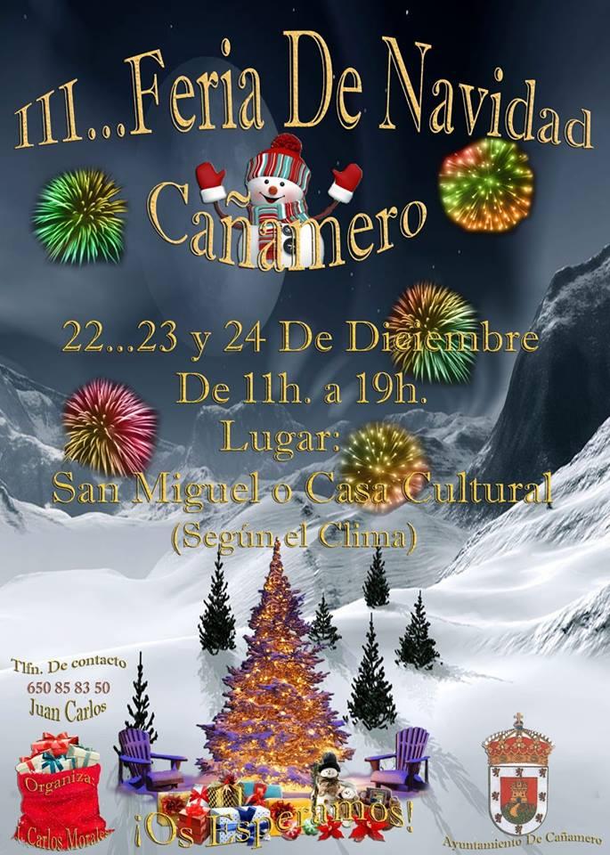 III Feria de Navidad - Cañamero (Caceres)