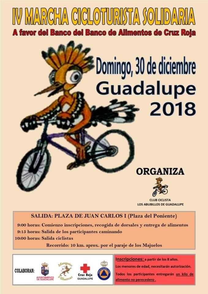 IV Marcha cicloturista solidaria - Guadalupe (Cáceres)