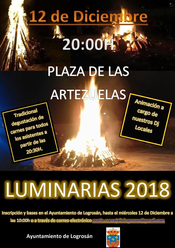 Luminarias 2018 - Logrosán (Cáceres)