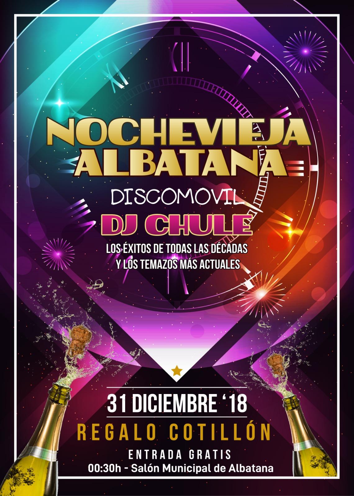 Nochevieja 2018 - Albatana (Albacete)