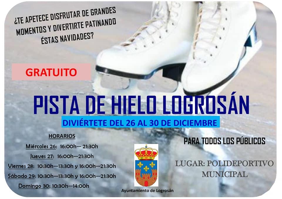 Pista de hielo 2018 - Logrosán (Cáceres)