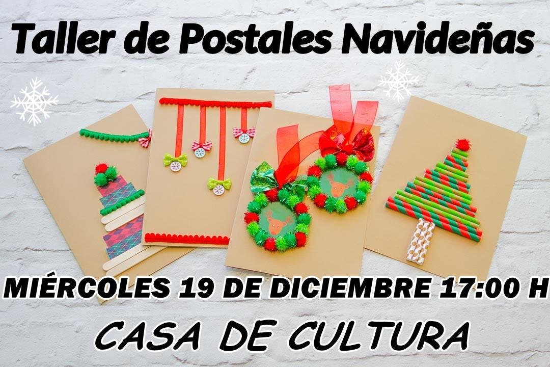 Taller de postales navideñas 2018 - Logrosán (Cáceres)