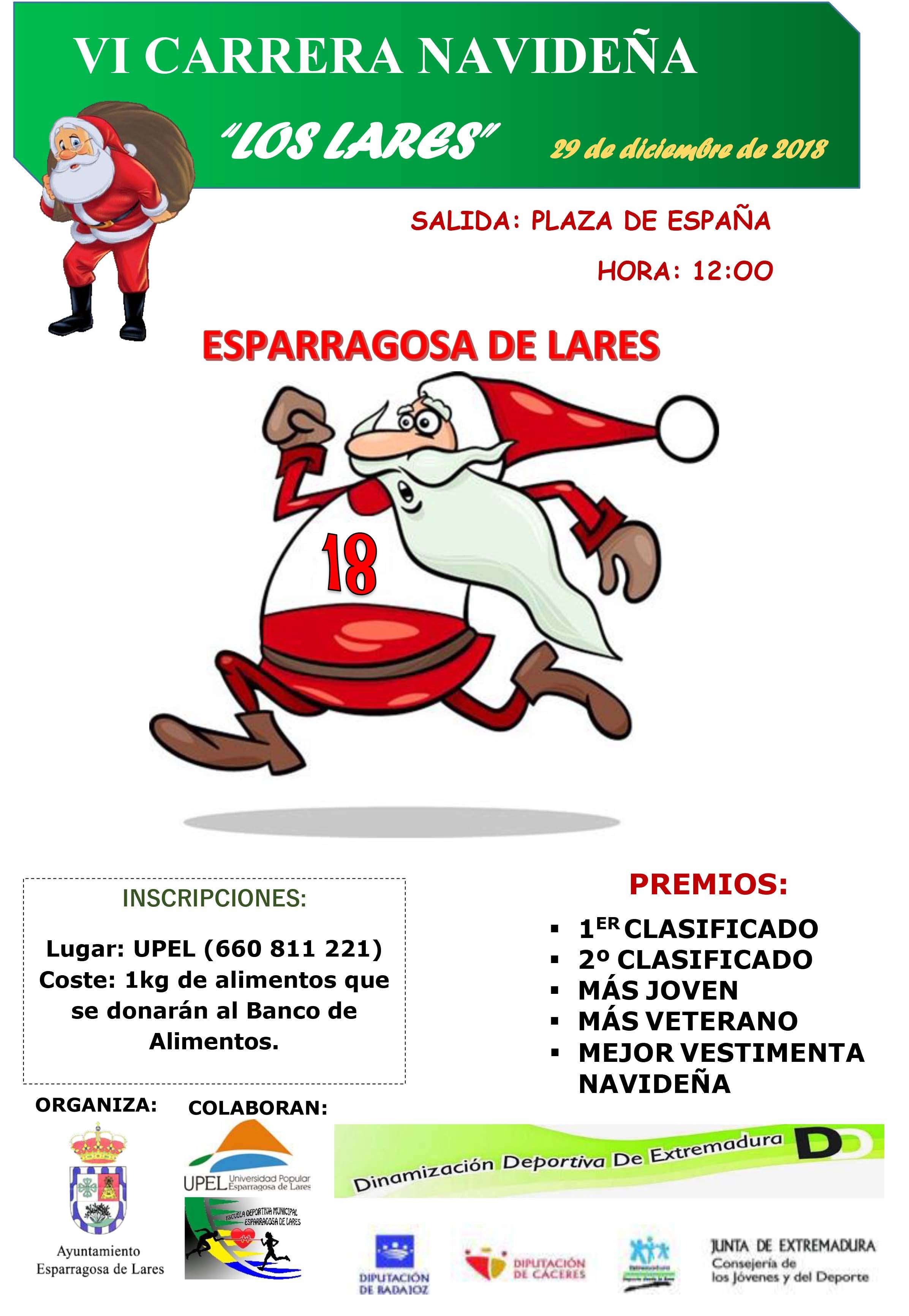 VI Carrera navideña - Esparragosa de Lares (Badajoz)
