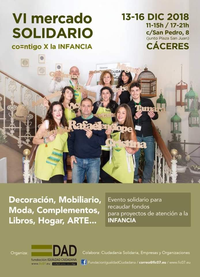 VI Merdado solidario - Cáceres