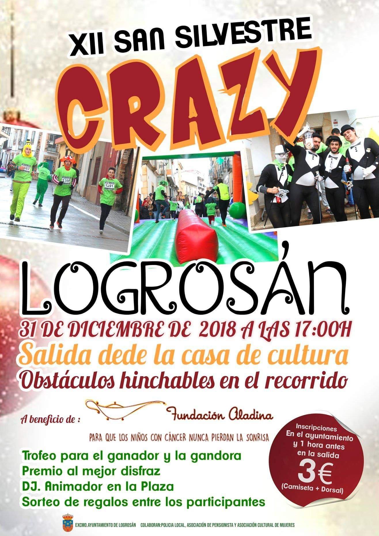 XII San Silvestre Crazy - Logrosán (Cáceres)