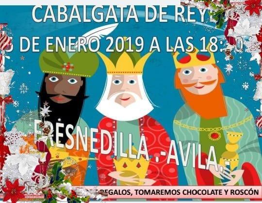 Cabalgata de Reyes 2019 - Fresnedilla (Ávila)