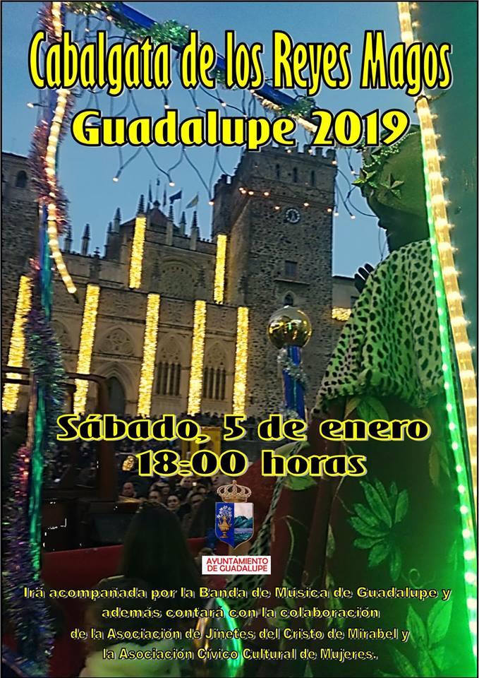 Cabalgata de los Reyes Magos 2019 - Guadalupe (Cáceres)