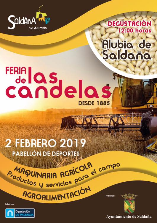 Feria de las candelas 2019 - Saldaña (Palencia)