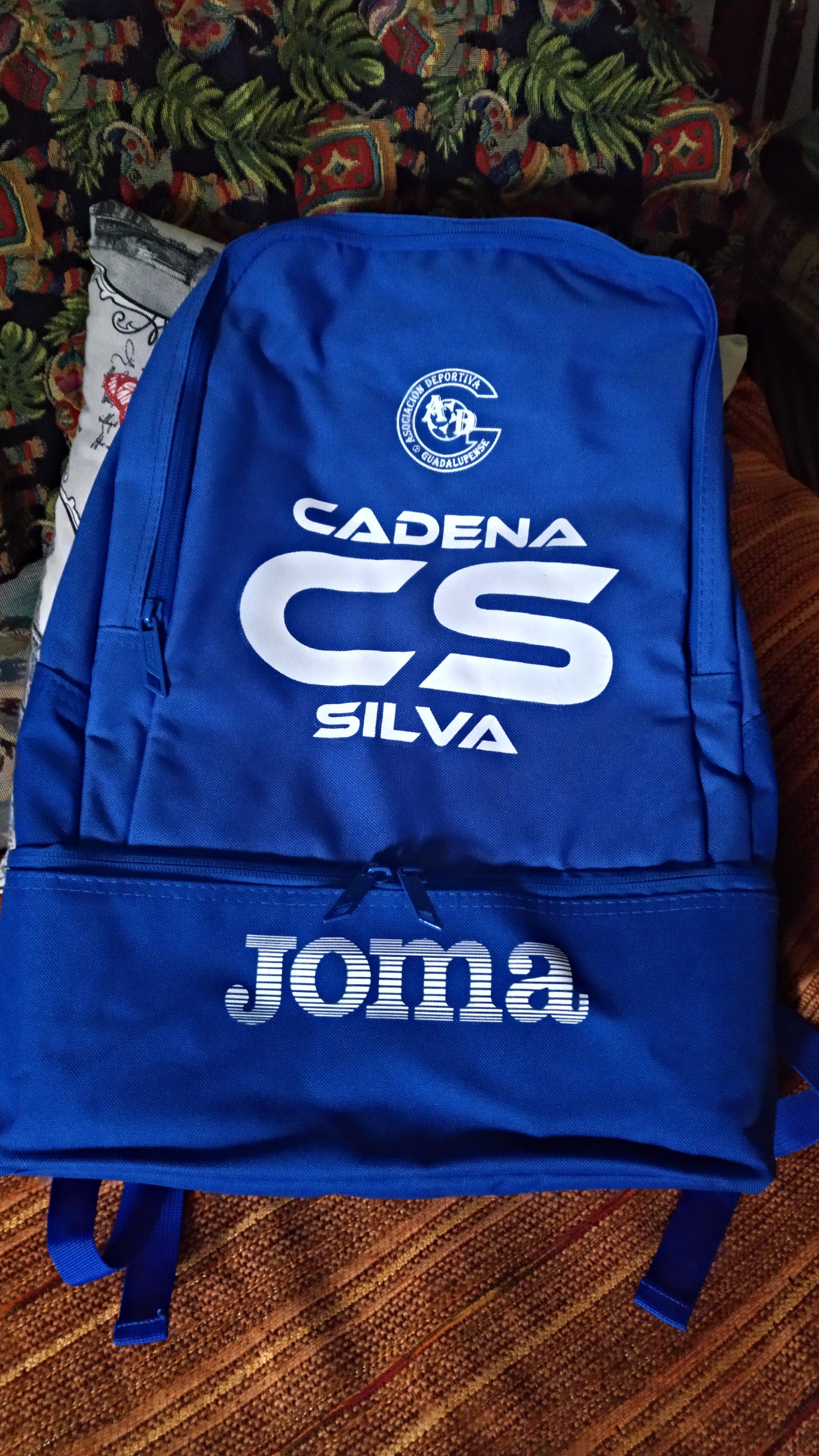 Patrocinio mochilas AD Guadalupense 1