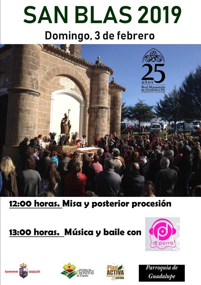 San Blas 2019 - Guadalupe (Cáceres)