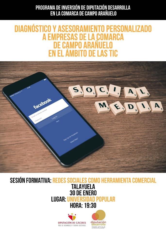 Taller de redes sociales 2019 - Talayuela (Cáceres)