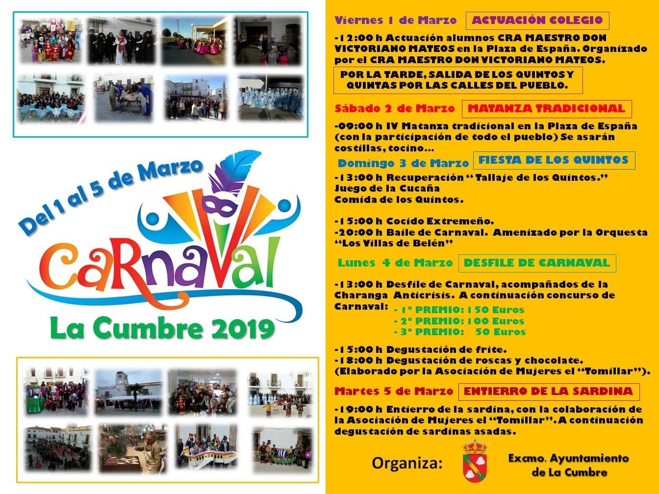 Carnaval 2019 - La Cumbre (Cáceres)