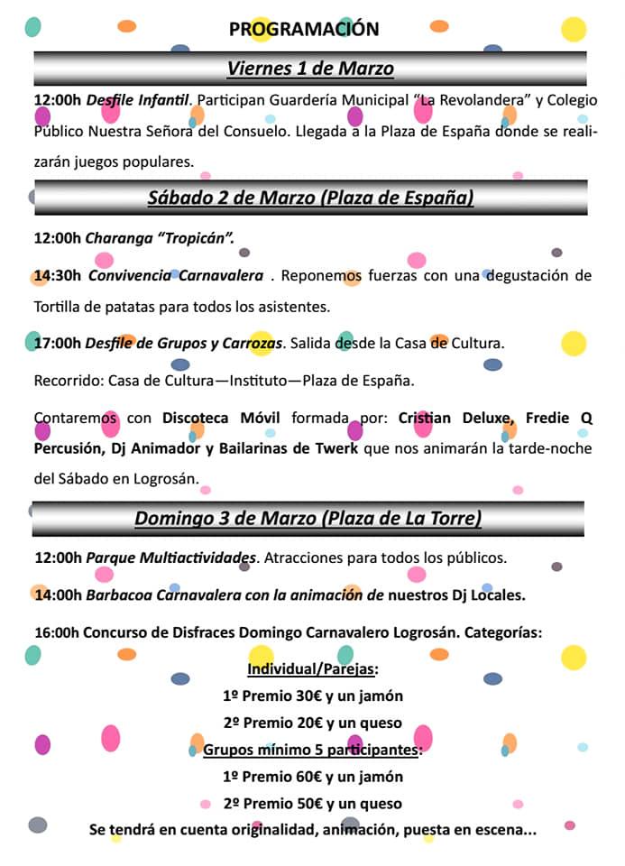 Carnaval 2019 - Logrosán (Cáceres) 2