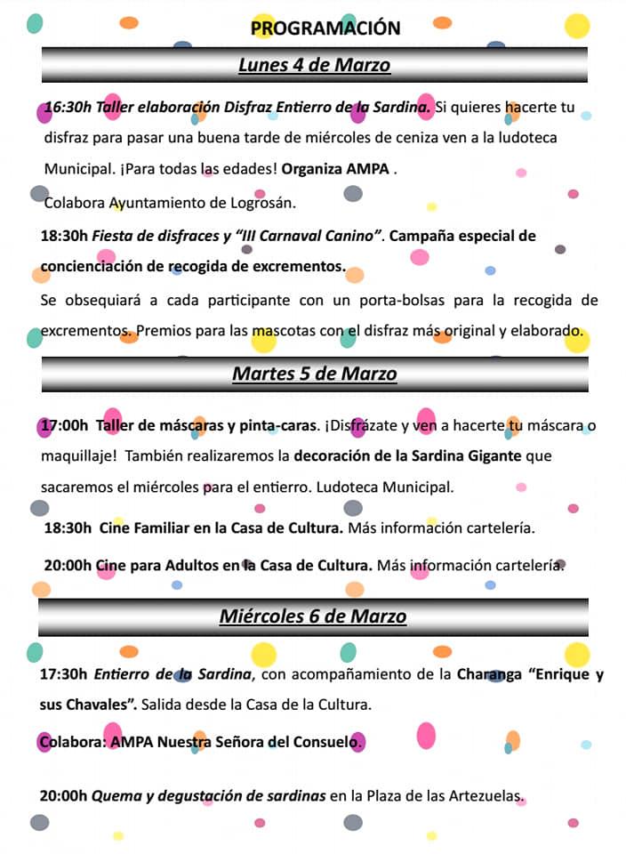 Carnaval 2019 - Logrosán (Cáceres) 3