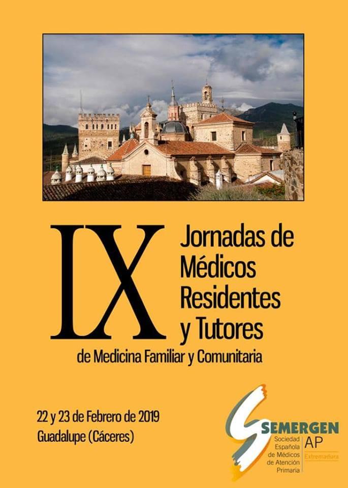 IX Jornadas de médicos residentes y tutores de medicina familiar y comunitaria