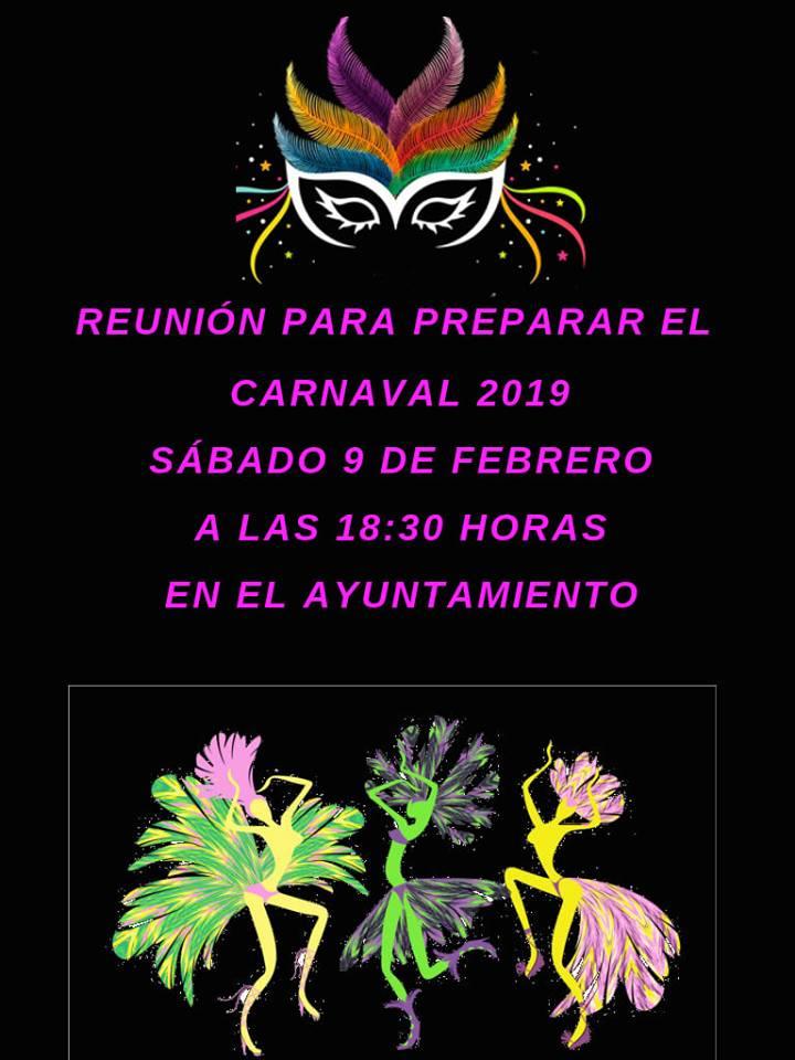Reunión carnaval 2019 - Berzocana (Cáceres)