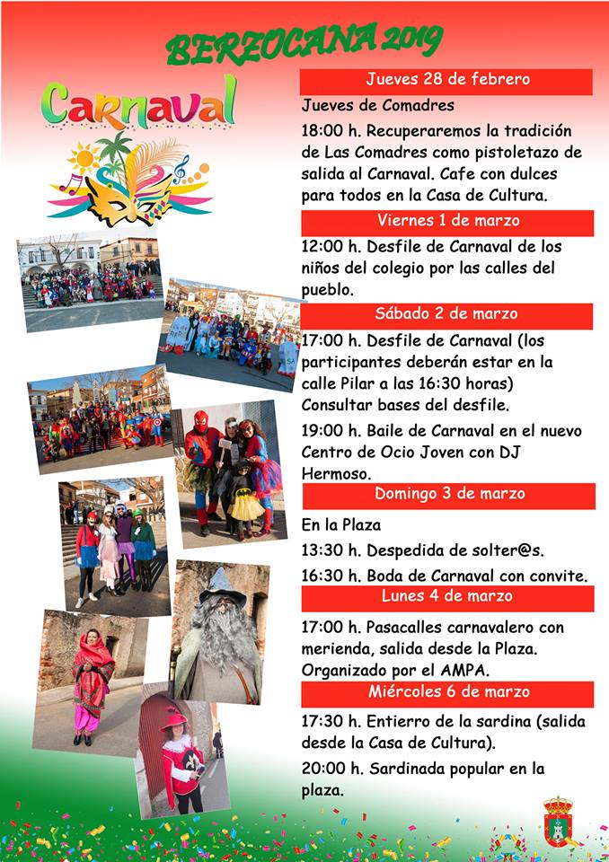 Carnaval 2019 - Berzocana (Cáceres)