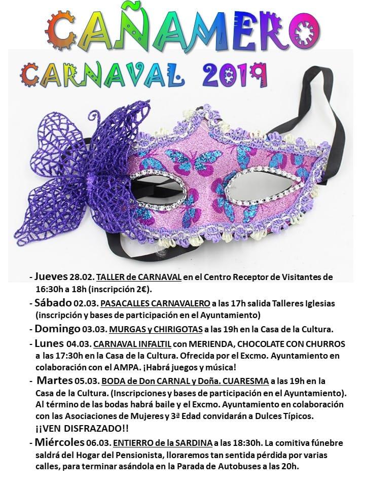 Carnaval 2019 - Cañamero (Cáceres)