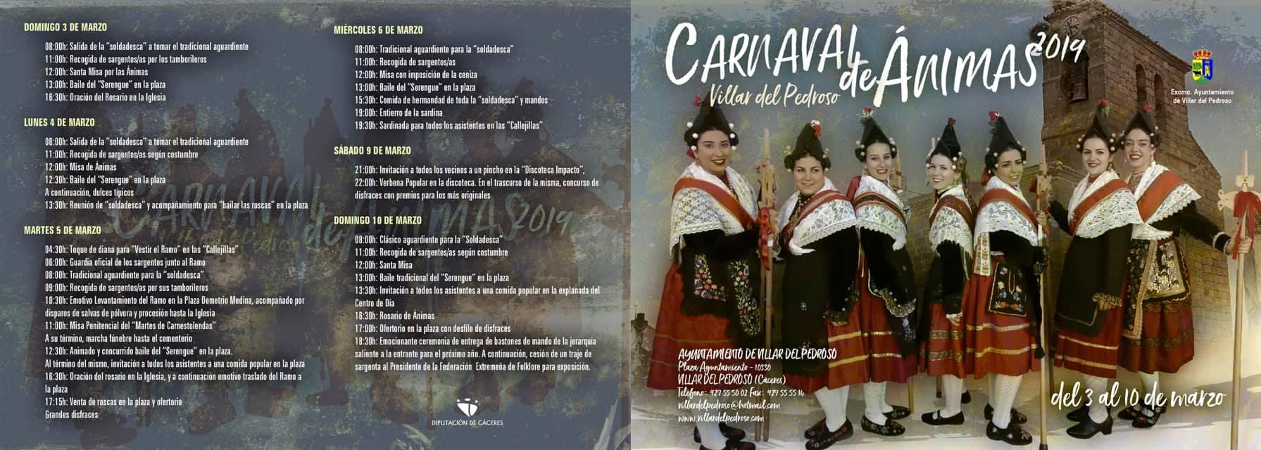 Carnaval de Ánimas 2019 2