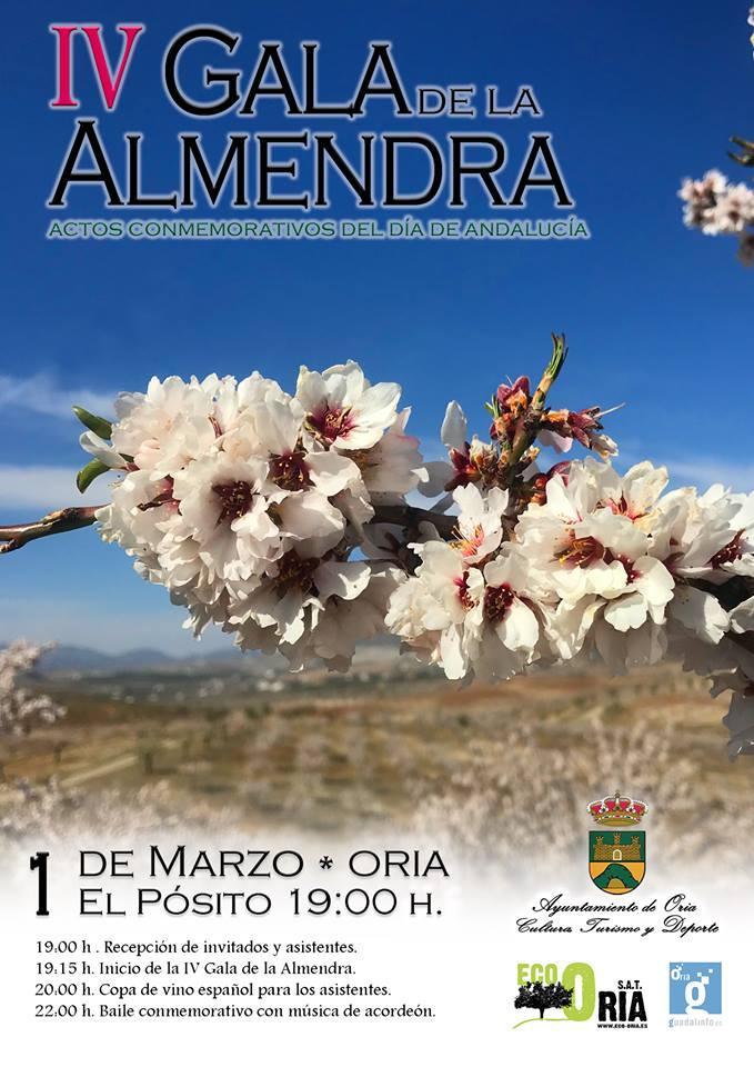 IV Gala de la almendra - Oria (Almería)