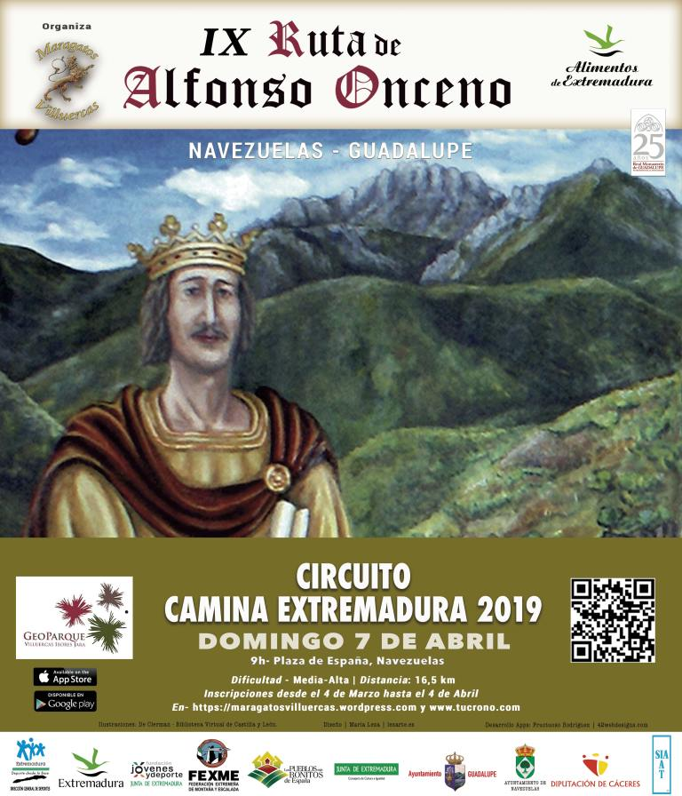 IX Ruta de Alfonso Onceno