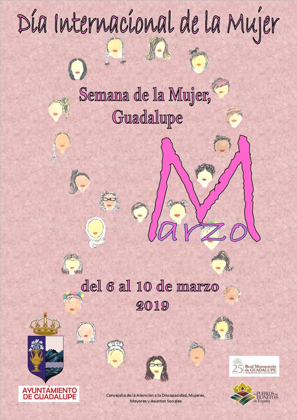 Semana de la mujer 2019 - Guadalupe (Cáceres) 1