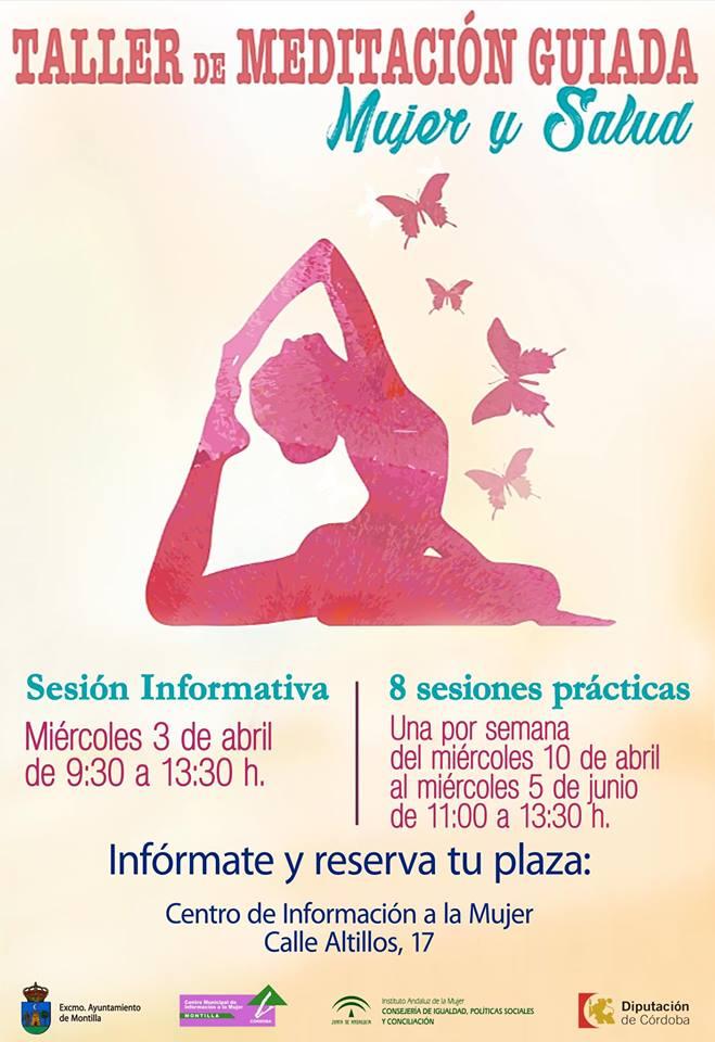 Taller de meditación guiada 2019 - Montilla (Córdoba)