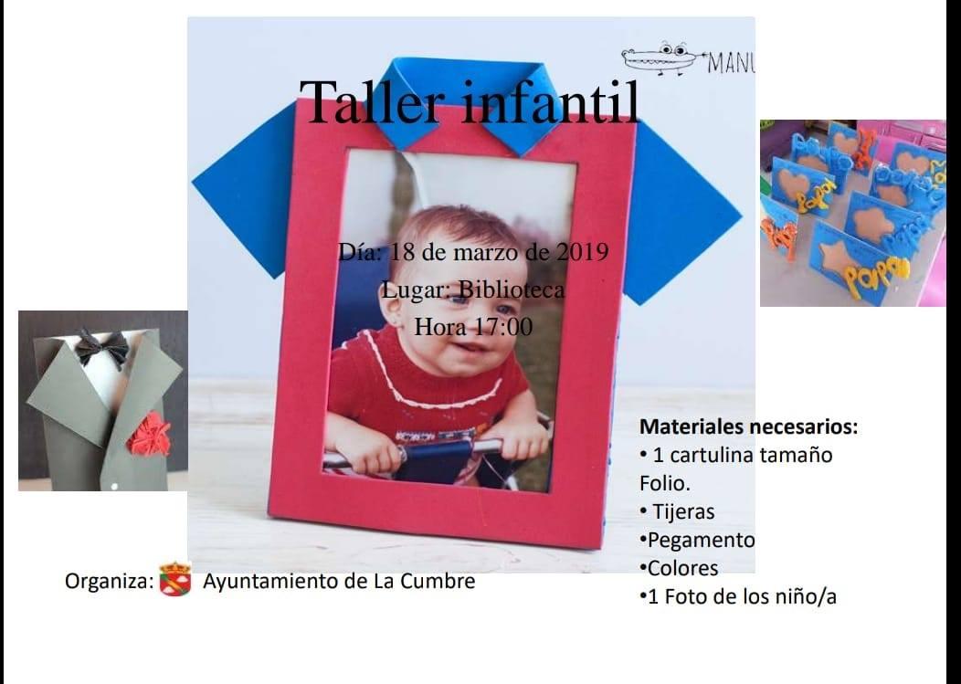Taller infantil marzo 2019 - La Cumbre (Cáceres)