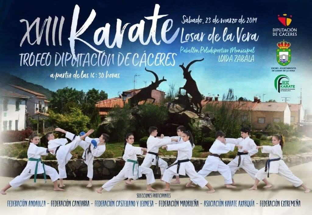 Trofeo de Kárate - Losar de la Vera (Cáceres)