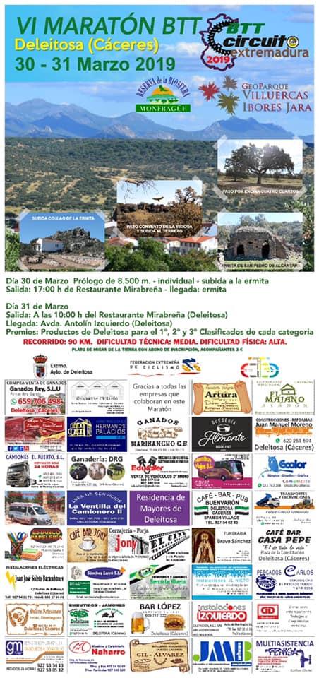VI Maratón BTT - Deleitosa (Cáceres)