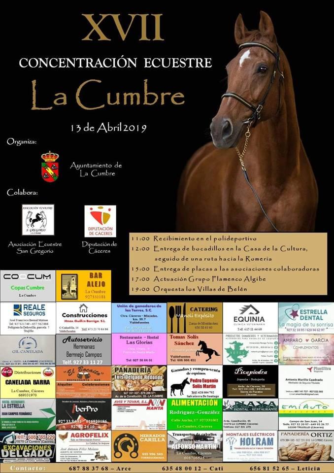 XVII Concentración ecuestre - La Cumbre (Cáceres)